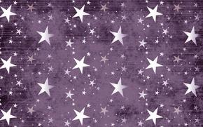 Picture purple, color, texture, stars