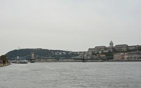 Picture bridge, bridge, Hungary, Hungary, Budapest, The Danube, Budapest, Danube