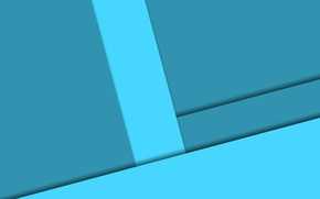Picture line, blue, geometry, design, color, material