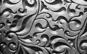 Picture metal, pattern, silver, metal, texture, background, pattern, steel, metallic