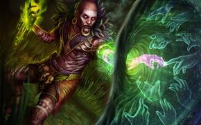 Picture hand, the sorcerer, diablo 3, spirit
