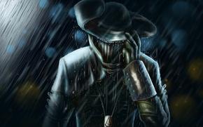 Picture rain, art, Assassins, multiplayer, Creed 3, Joe