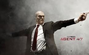 Picture cinema, Hitman, fire, guns, flame, gun, weapon, movie, home, killer, agent, film, suit, Agent 47, …