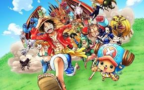 Picture game, Chopper, One Piece, anime, Robin, captain, asian, shooter, manga, japanese, oriental, asiatic, Roronoa Zoro, …