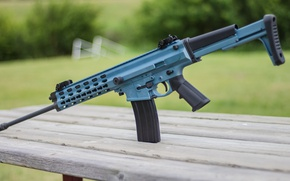 Picture weapons, rifle, assault, automatic, Arms XCR-L