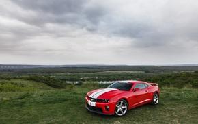 Picture Chevrolet, Camaro, red, 2013