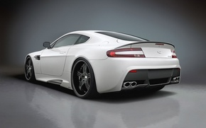 Wallpaper white, Aston, martin
