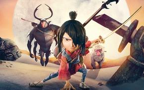 Picture cinema, sword, monkey, katana, boy, movie, ken, blade, samurai, hero, asian, film, animated film, oriental, …