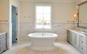 Picture room, Villa, interior, shower, bathroom