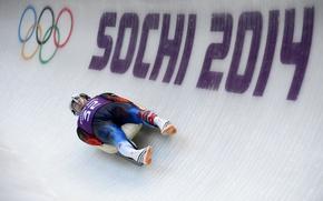 Picture speed, track, ice, Russia, Sochi 2014, The XXII Winter Olympic Games, Sochi 2014, sochi 2014 …