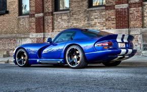Picture blue, dodge viper, Viper GTS 04
