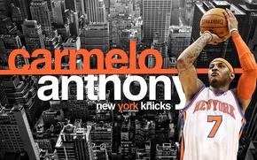 Picture city, New York, basketball, basketball, New York, nba, NBA, New York Knicks, Carmelo Anthony, Carmelo …