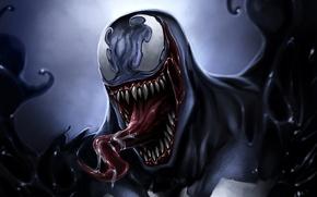Picture language, Venom, Eddie Brock, Symbiote