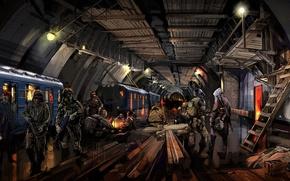 Picture People, Art, Metro 2034