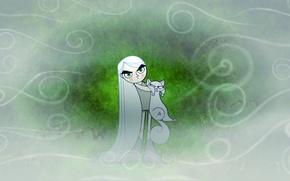 Picture fog, fantasy, cartoon, Pangur Ban, Aisling, The Secret Of Kells, The Secret of Kells, Aisling, …