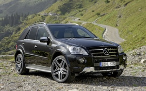 Wallpaper Mercedes-Benz, Mercedes, AMG, crossover, W164, ML-Class