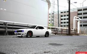Picture Dodge, Challenger, tuning, vossen, VVSCV3