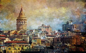 Picture the city, style, building, Istanbul