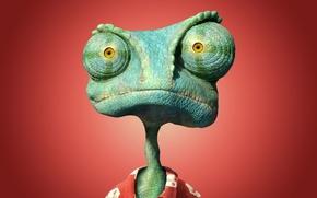 Picture red, reptile, Rango