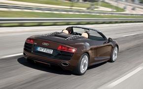 Picture Audi, cabriolet, R8