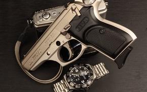 Picture gun, watch, self-loading, Bersa, Argentine, Thunder 380