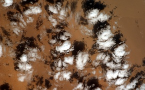 Picture Clouds, Earth from space, Sahara Desert