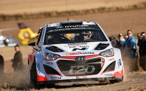 Picture Hyundai, Germany, WRC, Rally, The front, i20