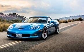 Picture car, Corvette, z06, rechange, chevrolet corvette, hq Wallpapers