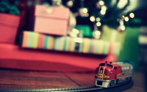 Picture holiday, toys, gifts, Christmas Wallpaper