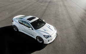 Picture Hyundai, Coupe, the view from the top, Genesis, ARK Performance