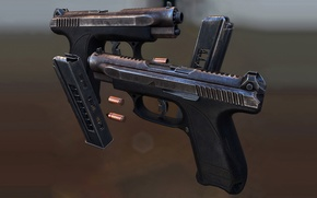 Picture Gryazev and Shipunov, GSH-18, gun
