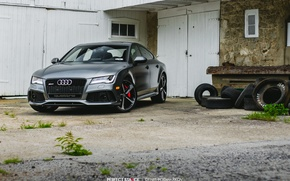 Picture audi, silver, RS7