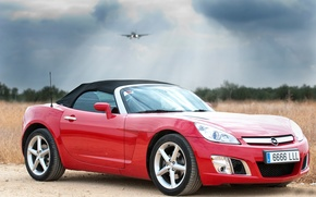 Picture the plane, opel, Spotting Car