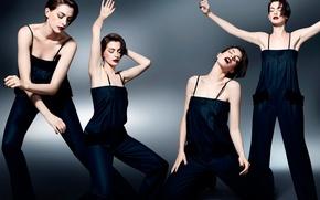 Picture dance, gestures, Anne Hathaway, Anne Hathaway, movement, It