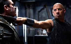 Picture background, movies, VIN Diesel, Riddick