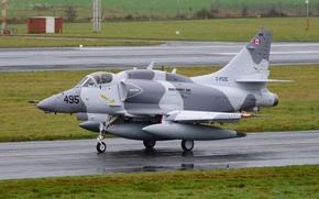"Wallpaper easy, A-4 Skyhawk, attack, ""Skyhawk"", Douglas A-4N"