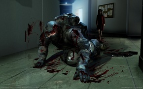 Wallpaper blood, murder, soldiers, fear, extraction points, Alma
