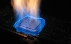 Picture fire, nvidia, video card