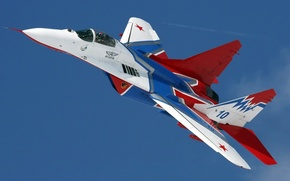 Picture fighter, the MiG-29, Swifts