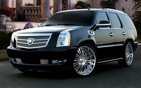 Picture auto, Cadillac, tuning, Escalade, drives, auto, tuning
