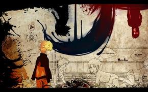 Picture sadness, betrayal, naruto, naruto, Sasuke, sasuke, plans, narusasu, narusasu, sasunaru, sasunaru