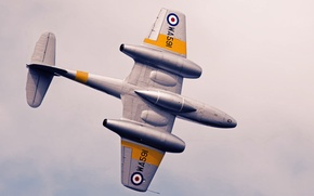 Picture jet, aviation, airplane, Gloster Meteor