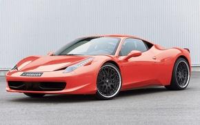Picture red, tuning, Ferrari, Hamann, Ferrari, 458, Italia