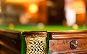 Picture macro, table, sport, Snooker