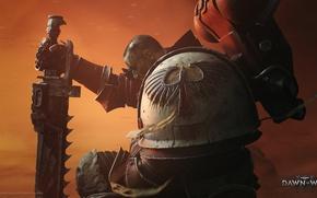 Picture Warhammer 40000, space marine, space Marines, Warhammer 40k, Blood Ravens, Dawn of War 3