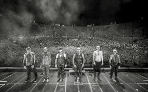 Picture group, Rammstein, metal, the Germans