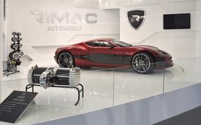 Picture Supercar, Concept One, Rimac, Electrocar