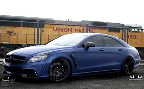 Picture mercedes, tuning, wald, cls, black bison