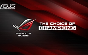 Picture ASUS, ROG, Republic of Gamers