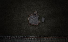 Wallpaper thread, jeans, Apple